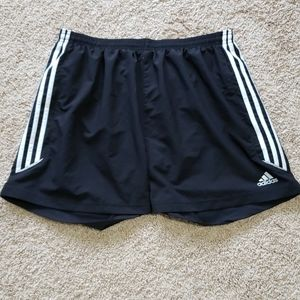 Adidas women's work out shorts with drawstring